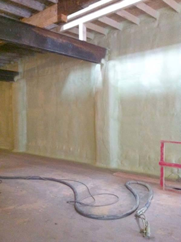 Basement insulation project