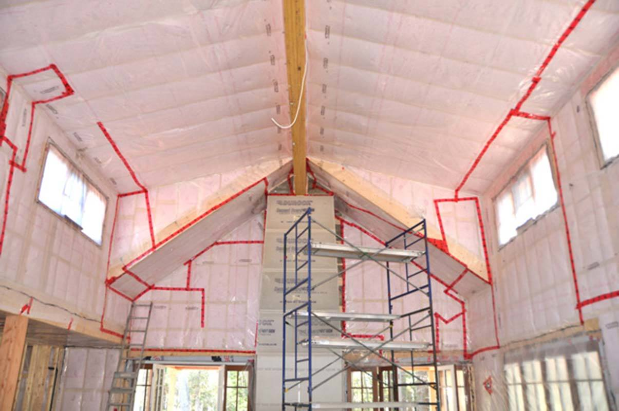 Weather sealed insulation project